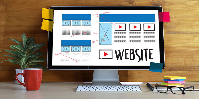 تاثیر طراحی وب سایت